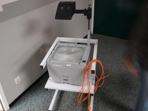Overhead projector picture